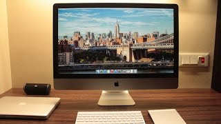getlinkyoutube.com-Unboxing iMac 27'' 5K i7 Retina - With one hand !