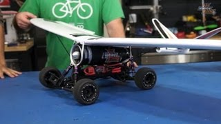 getlinkyoutube.com-Hobbykinglive - EDF jet car plane and farewell to Santa Cruz.