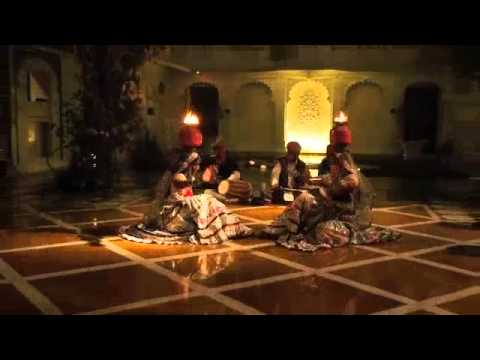 Dancing Taj Lake Palace Hotel