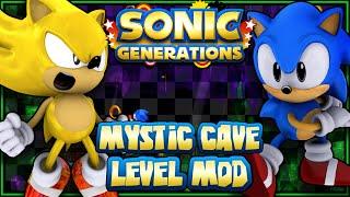 getlinkyoutube.com-Sonic Generations PC - (1440p) Mystic Cave Level Mod