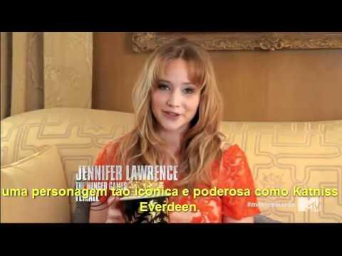 Melhor performance feminina: Jennifer Lawrence (MMA 2012) [LEGENDADO]