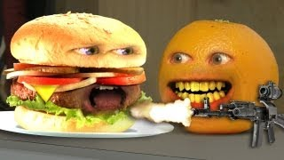 getlinkyoutube.com-Annoying Orange - Monster Burger!