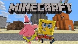 getlinkyoutube.com-Bob Esponja en Minecraft?!?! Mod para todos!!!