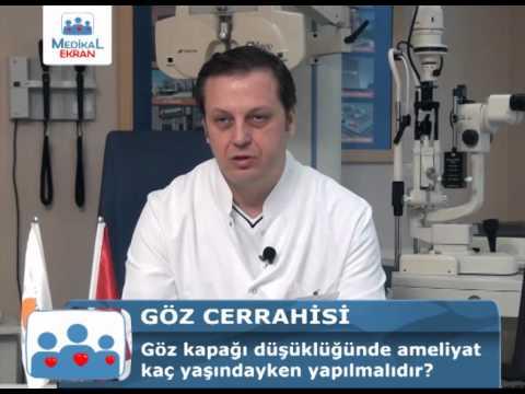 Göz Kapağı Düşüklüğünde Ameliyat Kaç Yaşındayken Yapılmalıdır - Op.Dr.Levent Akçay