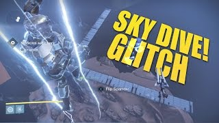 """Destiny - New Sky Dive Glitch """"Get to a Secret Area!"""" (Destiny Glitches and Tricks)"""