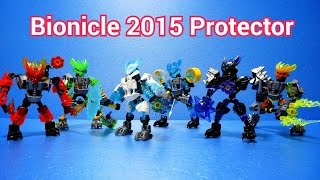 getlinkyoutube.com-레고 바이오니클 수호자 전제품 동영상 Lego Bionicle 2015 All Protector (70778-70783) Build.