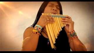 getlinkyoutube.com-Leo Rojas - Celeste. Веселая музыка в исполнении Индейца.