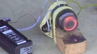 getlinkyoutube.com-Home Made Jet Turbine Dry run
