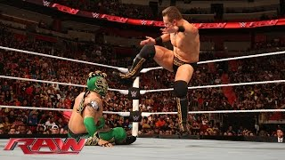 getlinkyoutube.com-Kalisto vs. The Miz: Raw, January 25, 2016