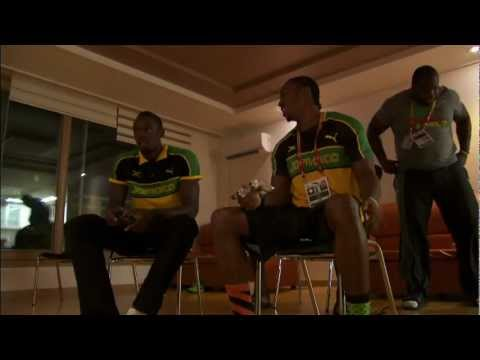 Usain Bolt - Usain Bolt Vs Yohan Blake on the Playstation