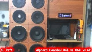 getlinkyoutube.com-Alphard Hannibal X6L vs X6H vs 6F