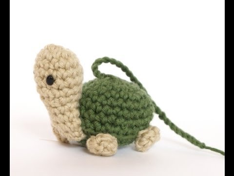 Tutorial Mini Tortuga Amigurumi Turtle (english subtitles)