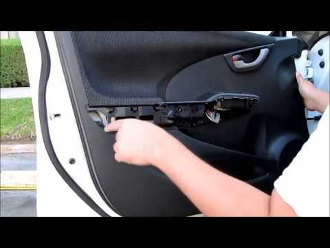 DIY Honda Fit Front Door Panel Removal