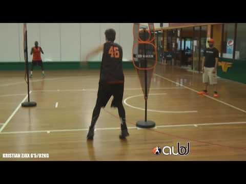 AUBD College Prospect Workout: Kristian Zjak