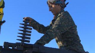 All-female Kurdish unit takes on ISIS