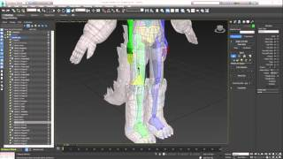 getlinkyoutube.com-3DS Max - Rigging Biped FULL Tutorial