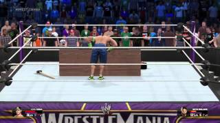 getlinkyoutube.com-WWE2k15 Attitude Adjustment through table!