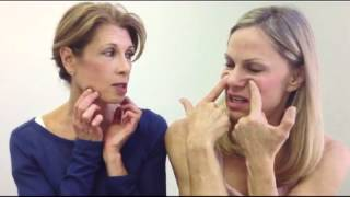 getlinkyoutube.com-Face Lift Exercises with Shellie Goldstein and Annelise Hagen