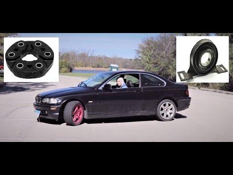 Замена эластичной муфты и промежуточной опоры карданного вала BMW E36, E46, E39, E34