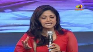 getlinkyoutube.com-Nadhiya speech | Attarintiki Daredi Thank You Party | Pawan Kalyan | Samantha | Trivikram Srinivas