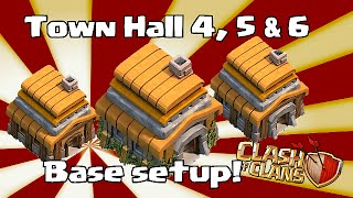 getlinkyoutube.com-clash of clans - Town hall 4,5 & 6 Base Layouts