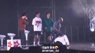 getlinkyoutube.com-151010 EXO-Love Concert - 경수, 레이, 민석이의 엑소엘을 사랑하는 만큼 몸으로 표현하기♡