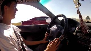 getlinkyoutube.com-Racing Random People in the Turbo Civic
