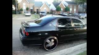 "getlinkyoutube.com-05 impala ss CLEAN!!!!!!!!!!! on 22s & Two 15"" inch Kicker L7's"