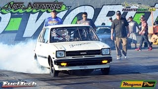 Toyota Jesyana - Motor rotativo turbo com FuelTech FT400! Nopi Nationals 2014