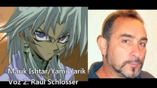 Yu-Gi-Oh! Comparação de Vozes