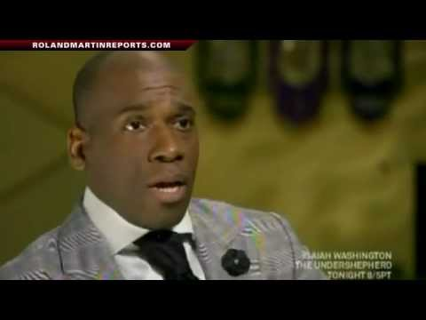 Dr. Jamal Bryant Talks with Roland Martin About Cheating on His Wife (Video)
