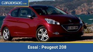 getlinkyoutube.com-Essai Peugeot 208