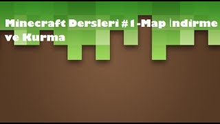 getlinkyoutube.com-Minecraft Map İndirme ve Kurma (Sesli)