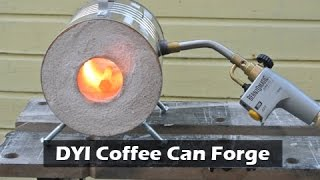 getlinkyoutube.com-How to Make a Coffee Can Forge