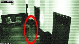 getlinkyoutube.com-Ghost in Hotel on Halloween - Caught of Security Camera 100% Real - Found Video #12