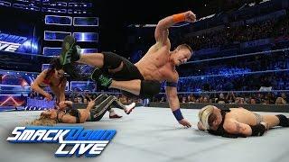 John Cena & Nikki Bella vs. James Ellsworth & Carmella: SmackDown LIVE, March 7, 2017 width=