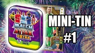 getlinkyoutube.com-DE GEA GOLD??!! TOPPS MATCH ATTAX EXTRA 2016- MINI TIN OPENING- #1