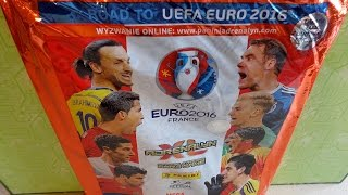 getlinkyoutube.com-Part 2: Road to UEFA EURO 2016 FRANCE Panini Adrenalyn XL Mega Starterpack Limited Edition Cards
