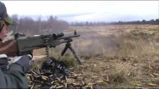 getlinkyoutube.com-Swedish Army Machinegun KSP58B