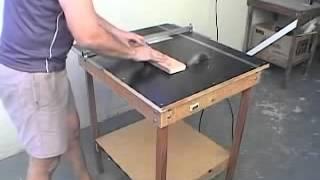 getlinkyoutube.com-تصميم  طاوله قص الأخشاب والصنفرة