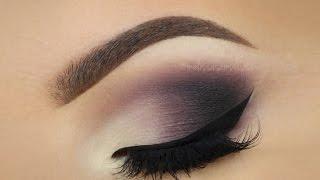 getlinkyoutube.com-♡ Matte Plum Smokey Eye ♡ Make Up Tutorial ♡ (English)