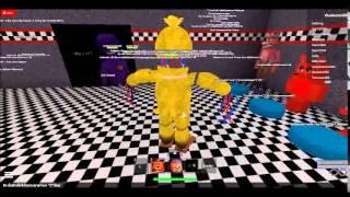 getlinkyoutube.com-FNAF Roleplay + Fnaf 1 easter egg + OC Room