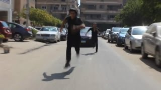 getlinkyoutube.com-مطاردة باركور في قمة الاثارة جابر النسر ومحمد سامو2016 Parkour scene