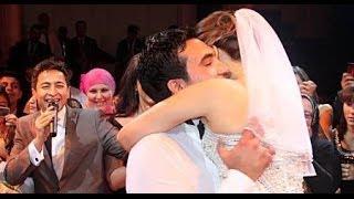 getlinkyoutube.com-حفل زفاف الفنانة المصرية ايمان العاصى الذي حضر ه جمع كبير من الفنانين