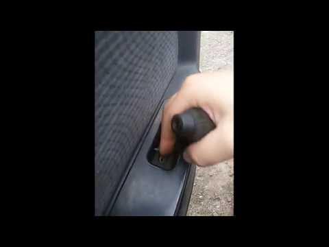 Как снять обшивку передней двери Daewoo nexia