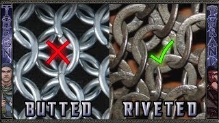 getlinkyoutube.com-Stop Using Modern Butted Chainmail for Historical Maille Testing!