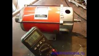 getlinkyoutube.com-Короткое замыкание обмотки якоря электродвигателя