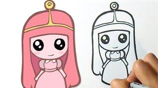 getlinkyoutube.com-Como desenhar Linda Princesa Jujuba