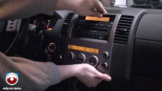 getlinkyoutube.com-2005 Nissan Pathfinder Radio Removal