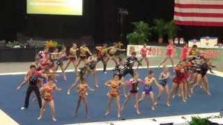 getlinkyoutube.com-Acrobatic Gymnastics Elite Group Routine 2013 - Final Performance